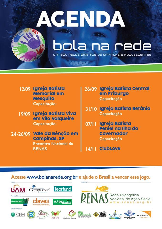 Agenda - Bola na Rede - RENAS