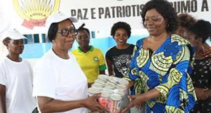 Lar feminino de Luanda é apoiado pela sociedade