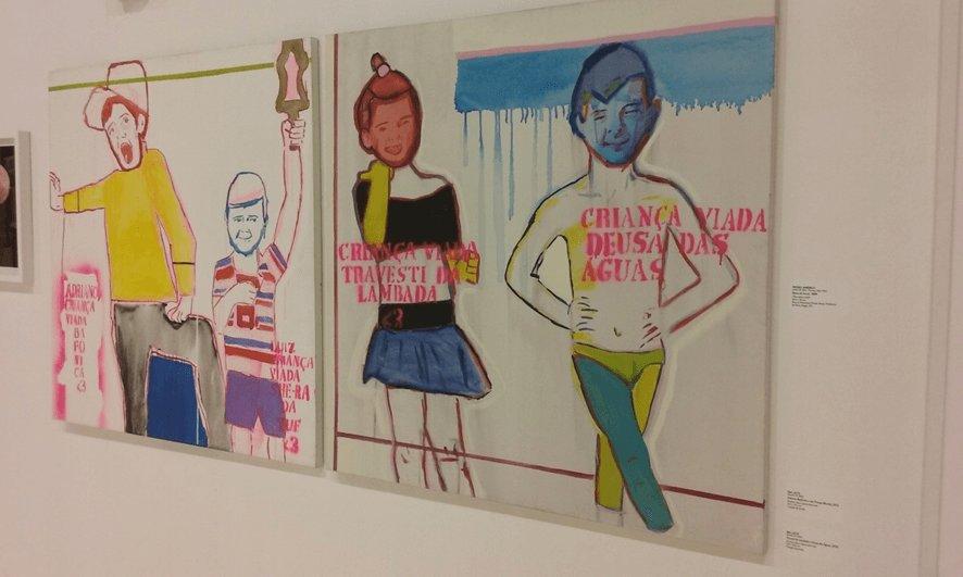 Santander Cultural promove pedofilia, pornografia e arte profana em Porto Alegre