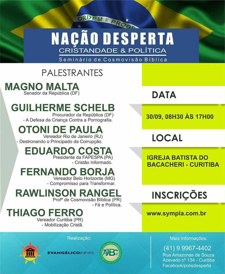 NAÇÃO DESPERTA - Curitiba/PR