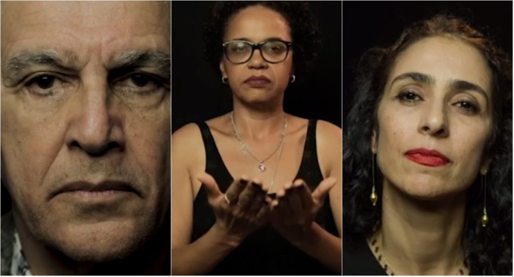 Artistas como Fernanda Montenegro, Marisa Monte e Caetano Veloso gravam vídeos contra a censura