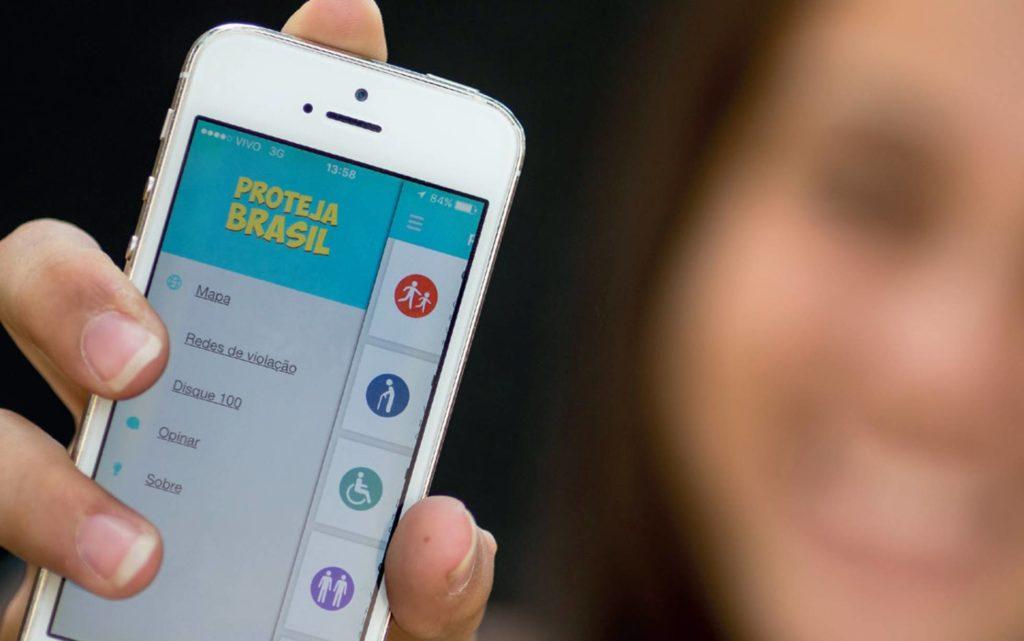 O 'app' brasileiro para denunciar abusos e ataques a menores