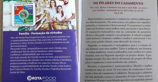 Rede de supermercados é massacrada por defender valores cristãos