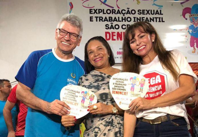 Campanha combate a exploração sexual e trabalho infantil no Carnaval