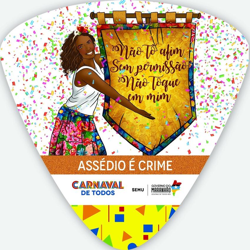 Participe da campanha contra o assédio sexual no carnaval