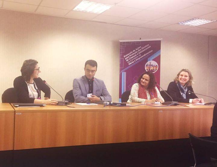 Childhood Brasil participa de seminário para discutir protocolo de proteção de direitos de crianças e adolescentes em áreas de grandes obras e empreendimentos