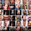 A lista (incompleta) dos 130 acusados de assédio sexual (44 conhecidos, mais 36 não revelados e mais 50 desconhecidos)